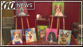 'Painting with a Purpose' to benefit local dog rescue