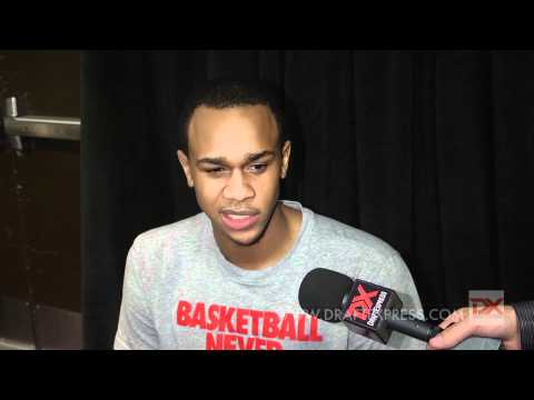 John Henson Draft Combine Interview
