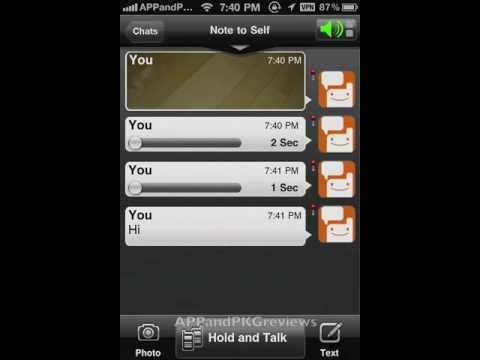 Voxer App for iPhone iPad iTouch