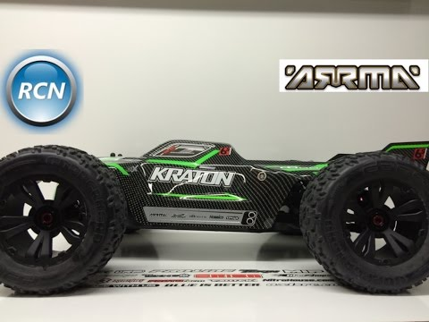 NEW!! Arrma Kraton 6s BLX 1/8th Monster Truck - Unboxed!!!