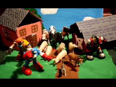 Farming Model For School Project Animal Farm School Project