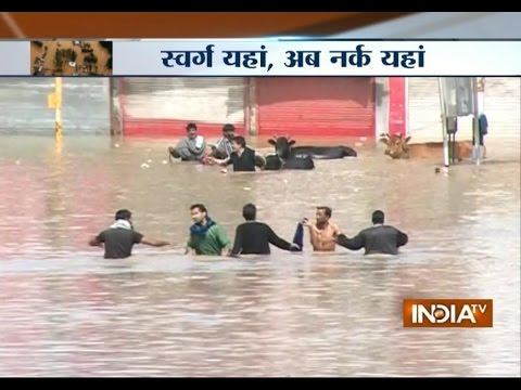 Jammu & Kashmir Becomes Hell After Flooding - India TV