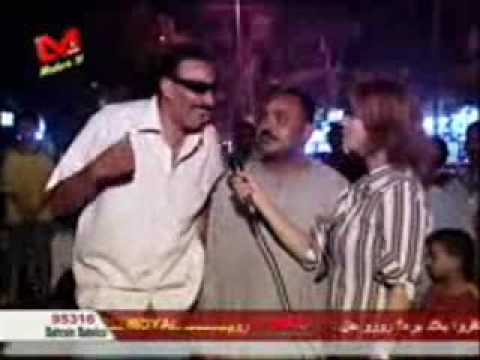 Helarious Egyptian Candid Camera -  صعيدي بيحكي نكتة بايخة جدا