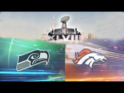 Super Bowl XLVIII Seattle Seahawks vs Denver Broncos Madden NFL 25 Xbox One
