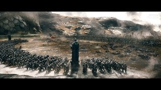 The Hobbit (2013) - Battle of the five Armies - Part 2 - Only Action [4K]