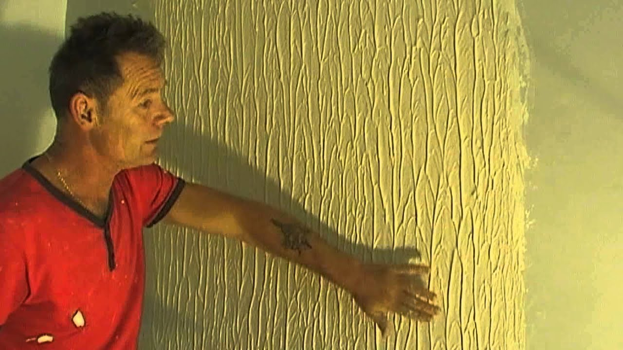 How To Make Tree Bark Wall Texture Knock Down Flat Easy