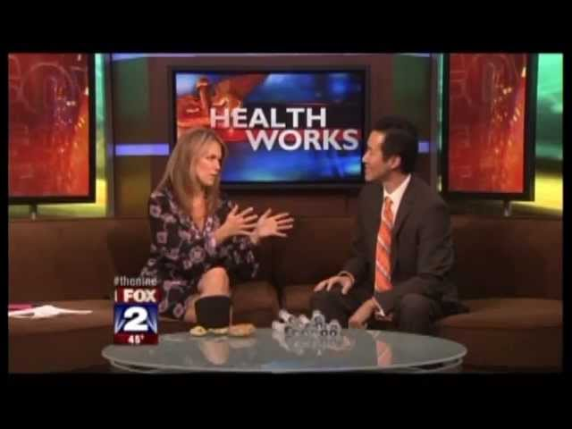 Fox News Detroit - Bagel Face and Placenta Facials