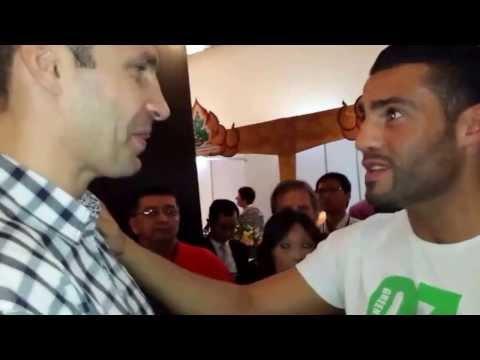 Vitali Klitschko Comeback 2014 gegen Manuel Omeirat Charr Kampf für Frieden in Syrien boxen boxing
