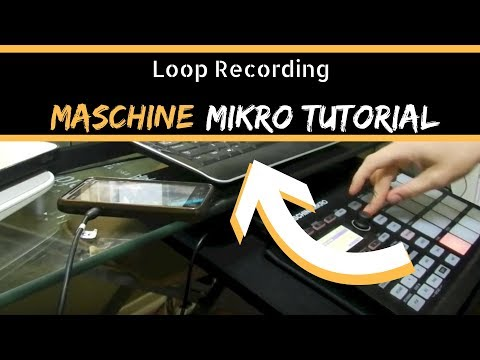 Maschine Mikro Tutorial - Loop Recording
