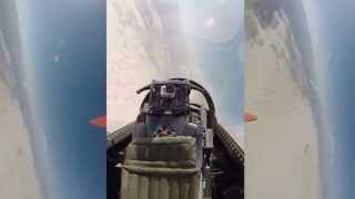 Test Missile Fired at Boeing's QF-16