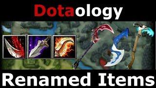 Dotaology: Renamed Items