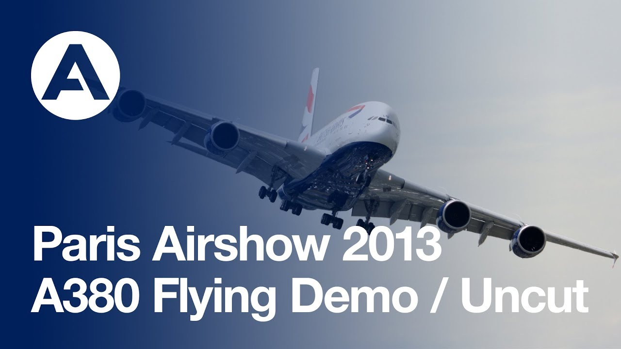 Paris Air Show 2013 Opening