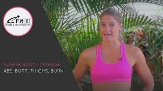 Intense Thigh Workout - with Jess