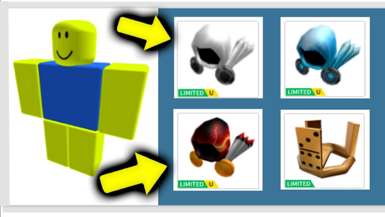 THIS NOOB HAS EVERY ITEM EVER?! (Roblox)