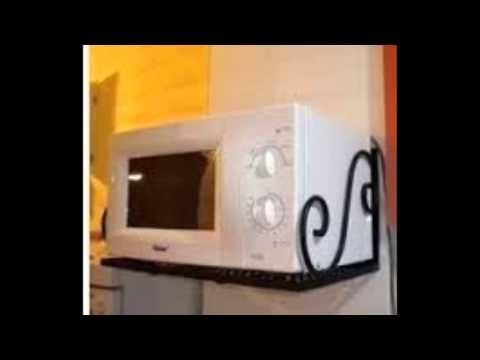 Микроволновка на кухне: где и как разместить.