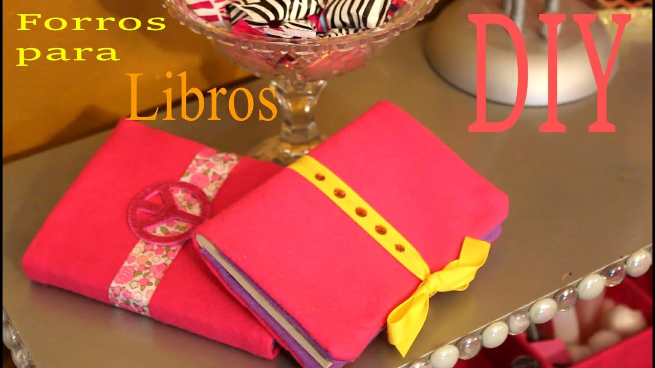 Book Cover Forros : Forro para libros book covers sin costuras youtube