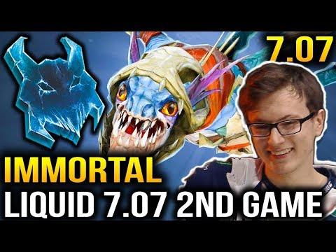 LIQUID Dota 7.07 Game VS Immortal - Miracle Slark is Too Strong Dota 2