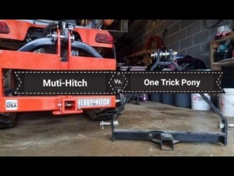Heavy Hitch (AKA Multi Hitch) on Kubota BX