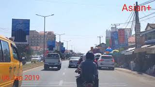 TRAVELLING TO THE SOUTH OF PHNOM PENH CAPITAL, KINGDOM OF CAMBODIA
