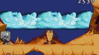 Taz-Mania!! (Sega Genesis/MegaDrive) Gameplay Part 1