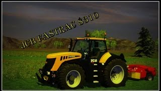 Farming Simulator 2013 JCB Fastrac 8310 (Cutting grass)
