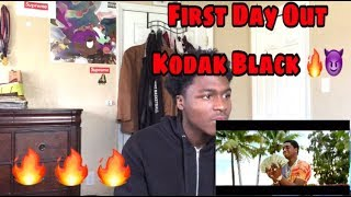 Kodak Black First Day Out Official Video reaction