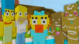 Minecraft The Simpsons - Maggies Ginger Bread Quest [3] (Minecraft Xbox Roleplay)