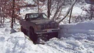 Second Gen Ford Ranger Hill Climb