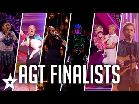 TOP 10 FINALISTS America's Got Talent 2017