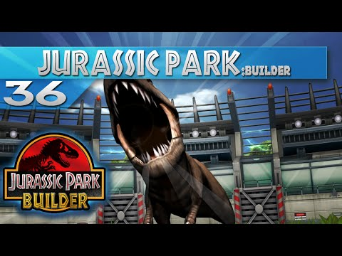 Jurassic Park Builder - Episode 36 - Tyrannosaur Battle