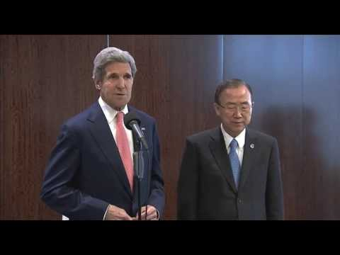 MaximsNewsNetwork: U.S.'s JOHN KERRY & UN S-G BAN KI-MOON: SYRIAN CONFLICT, DR CONGO, MIDDLE EAST