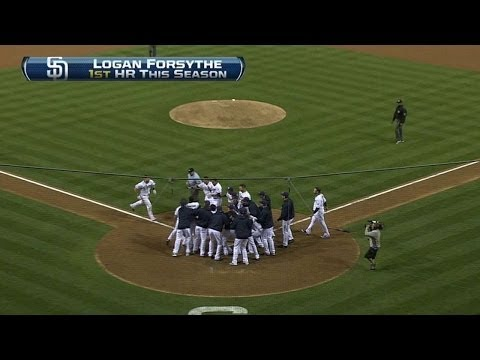 SF@SD: Forsythe crushes a dramatic walk-off home run