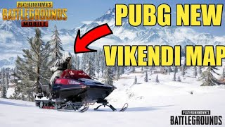 Pubg Mobile New Vikendi Map ( Snow Map ) ! Pubg Mobile New 0.10 New Update New Snow Map