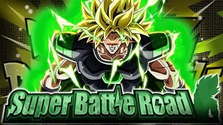 THE NEW KING OF SBR! PHY BROLY VS. CATEGORY SUPER BATTLE ROAD! (DBZ: Dokkan Battle)