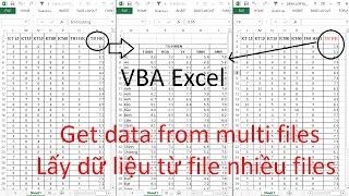 Excel VBA - Get data from multi files (Lấy dữ liệu từ nhiều files)