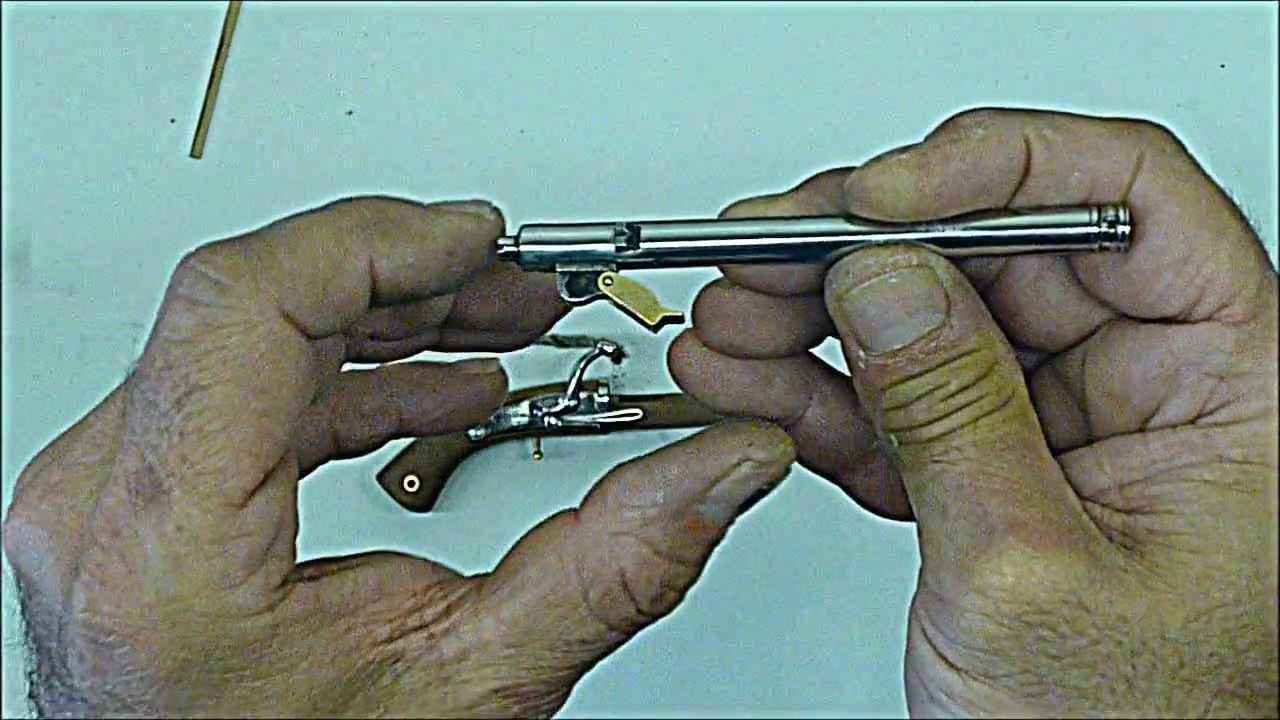 Mini Gun Japanese Matchlock Tanzutsu Very Powerfull Wmv