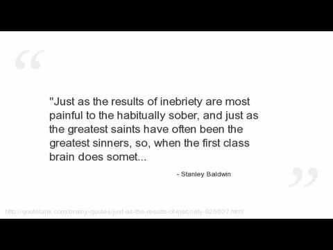 Stanley Baldwin Quotes
