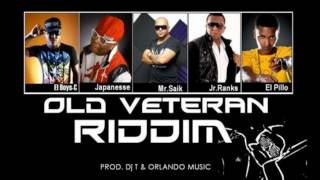 OLD VETERAN RIDDIM 2012 [Official Mix]- By @DJ_TROLL_507