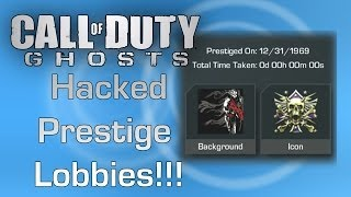 Call of Duty: Ghosts - Best and Safest Hacked Prestige Lobbies. Hosted by GameTuts