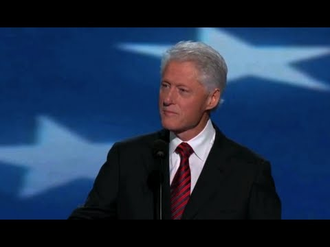 President Clinton's best lines of the night
