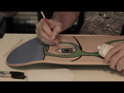 "ED TEMPLETON ""GLASSES"" REISSUE BOARD"