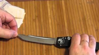 Нож Microtech HALO V TANTO (REPLICA) первое впечатление