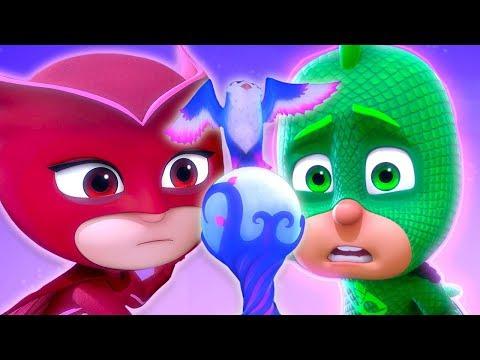 Герои в масках PJ MASKS | Алетт и Отдай-сова | мультики для детей