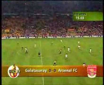 Arsenal Galatasaray resmi