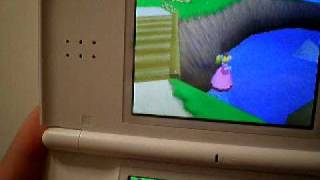 Play as Peach on Super mario 64 DS