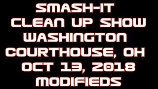 Washington Courthouse Cleanup Show Modifieds 2018