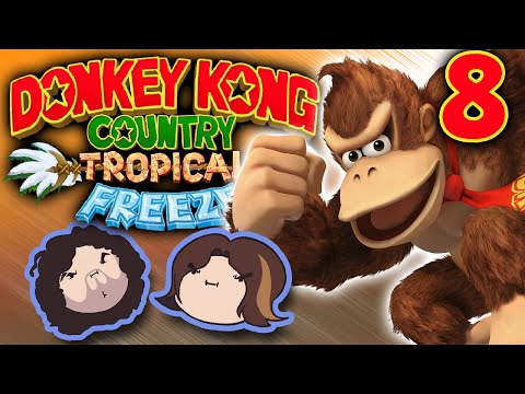 Donkey Kong Country Tropical Freeze: Duck the Spikes! - PART 8 - Game Grumps