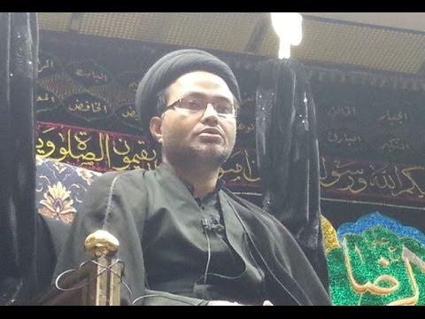 Maulana Qambar Ali Rizvi 25th Muharram Birmingham (UK)