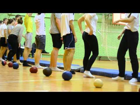 урок физкультуры с элементами лечебной гимнастики