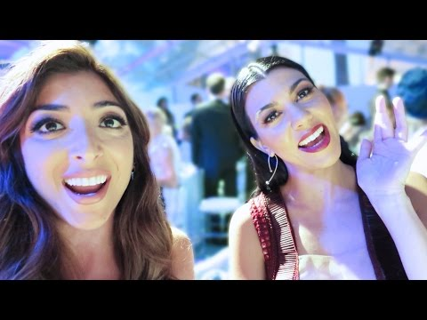 A Glamorous Evening & Partying with KOURTNEY KARDASHIAN! | Amelia Liana Vlune